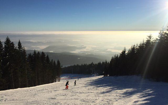 pec ski areál černý důl